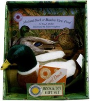 Mallard Duck at Meadow View Pond [With Stuffed Duck]