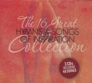 16 Great Hymns & Songs of Inspiration Collection  3 CD Set  -