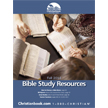 Bible Study Resources Fall 2014