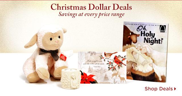 Christmas Dollar Deals