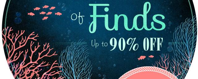 An Ocean of Finds