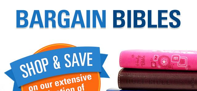 Bargain Bibles