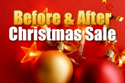 Before & After Christmas Sale