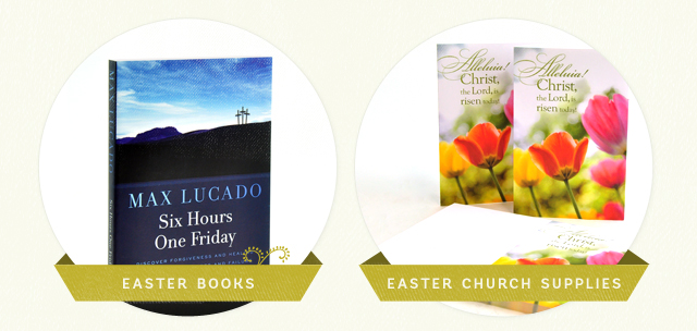 Easter Books, Easter Church Supplies