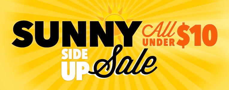 Sunny Side Up Sale