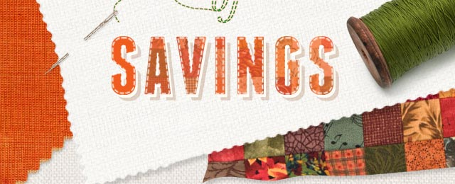 A Patchwork of Savings