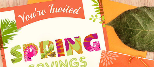 Spring Savings Party