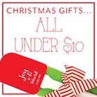 Save: Christmas <br>Under $10