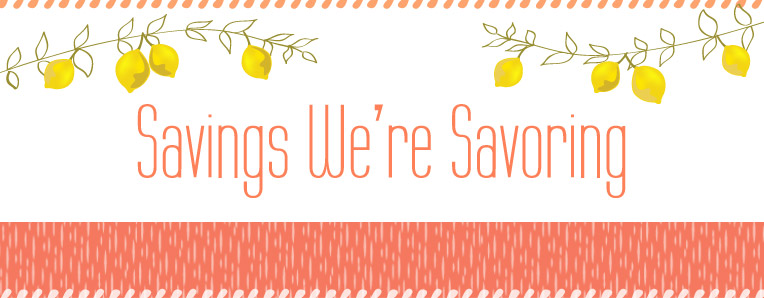 Savings We're Savoring