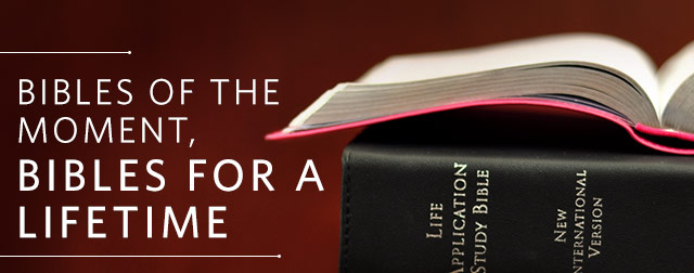 Bibles of the Moment, Bibles for a Lifetime