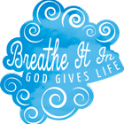 Breathe It In  VBS Logo