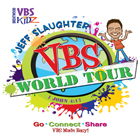 Jeff Slaughter's VBS World Tour Logo
