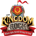Kingdrom Rock VBS Logo