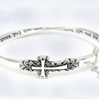 Sideways Cross<br>Bracelets