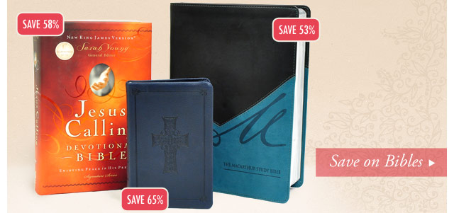 Save on Bibles
