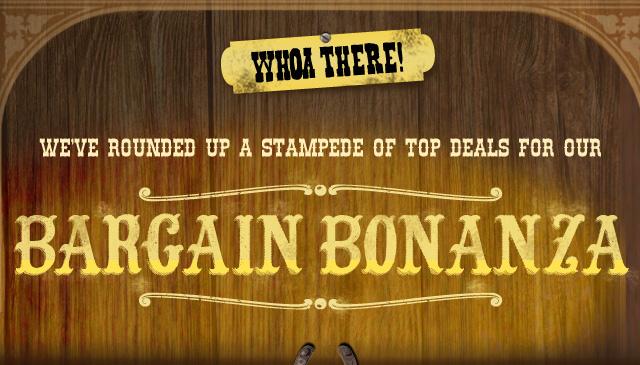 Bargain Bonanza