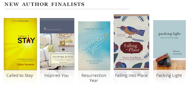 New Author Finalists
