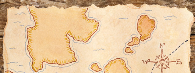 treasure map image