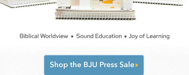 Shop the BJU Press Sale
