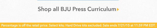 Shop all BJU Press Curriculum