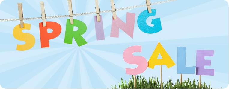 Spring Sale Break