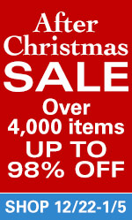 After Christmas Sale