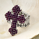 <sub>shimmering cross ring</sub>