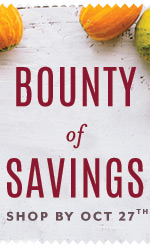 Bounty of Savings