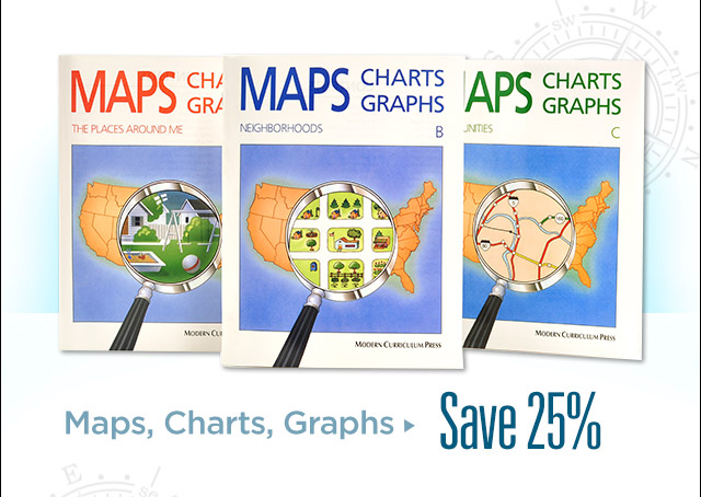 Maps, Charts, Graphs – Save 25%
