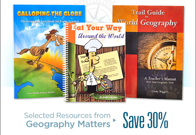 Selected Resources from Geography Matters – Save 30%
