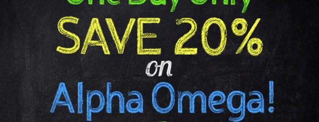 Alpha Omega Sale