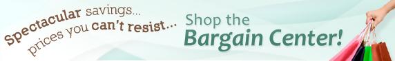 Bargain Center banner