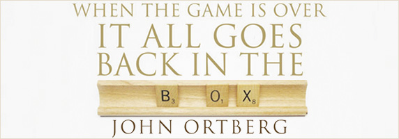 When the Game is Over: It All Goes Back in the Box