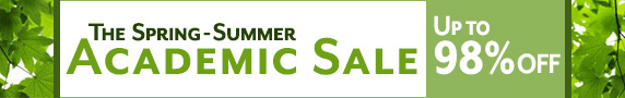 Academic Spring-Summer Sale