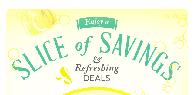 Enjoy a Slice of Savings