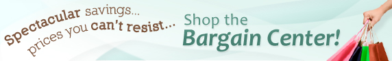 Shop the Bargain Center