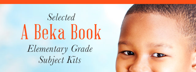 A Beka Book Elementary Grade Subject Kits