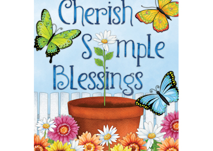 Cherish Simple Blessings
