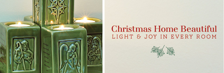 Christmas - Advent Pillar Candle Holder