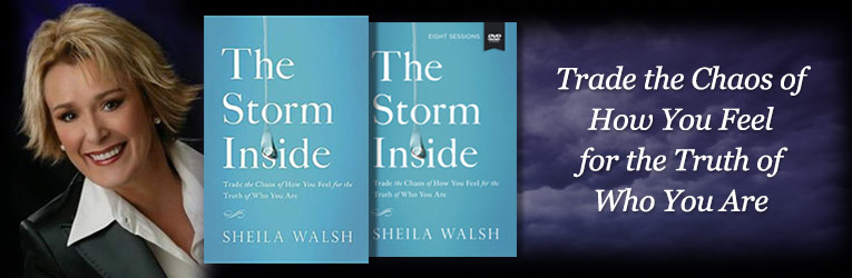 The Storm Inside, by Sheila Walsh