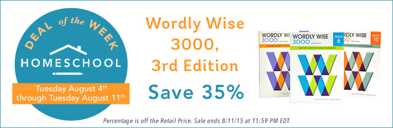Wordly Wise Sale