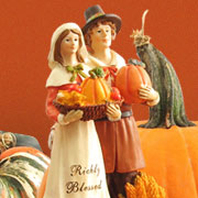 Autumn Figurines