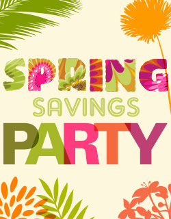 Spring Saving Party