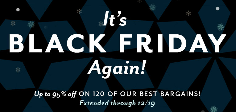 Black Friday Extended
