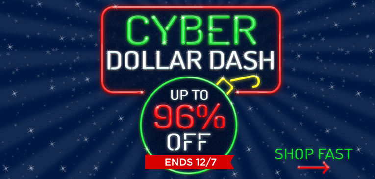 Cyber Week Dollar Dash