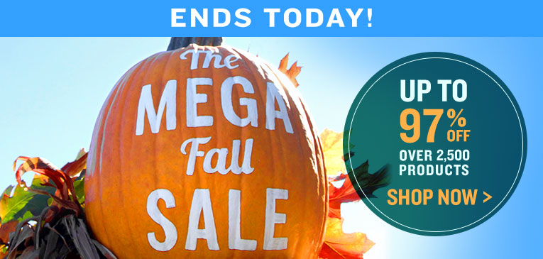 Mega Fall Ends Today