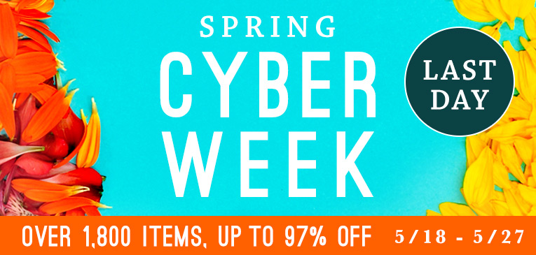 Cyber Week Sale Last Day