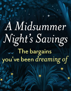Midsummer Savings