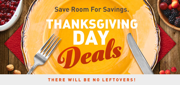 Thanksgiving Day Deals
