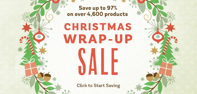 Wrap Up Sale